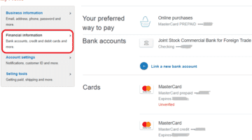 link a new card in paypal-seoonday.com